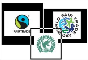 Fairtrade logo Fair Trade label