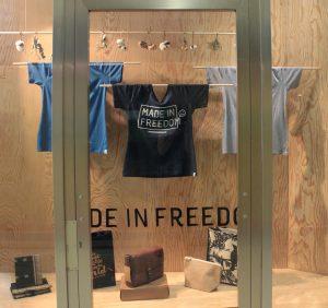 Made in Freedom Shop Alpha Buchhandlung