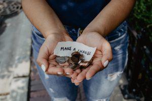 Geld spielt eine Rolle Make a Change Freedom