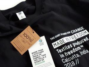 fair trade Shirt fair fashion made in freedom world fair trade day
